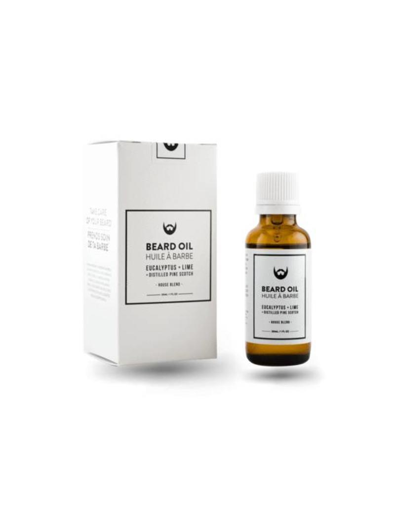 Always Bearded Lifestyle Beard Oil- Eucalyptus Lime Pine 30ml