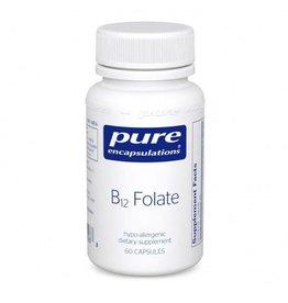 Pure Encapsulations B12 FOLATE 60's