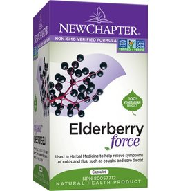 New Chapter Elderberry force 30 caps