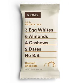 Rx Bar Rx Protein Bar Coconut Chocolate Box of 12