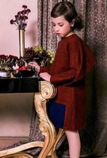 kipp Kipp Rust Cape dress