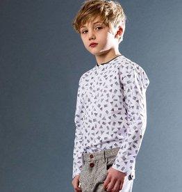 kipp Kipp Black/White Collarless Shirt