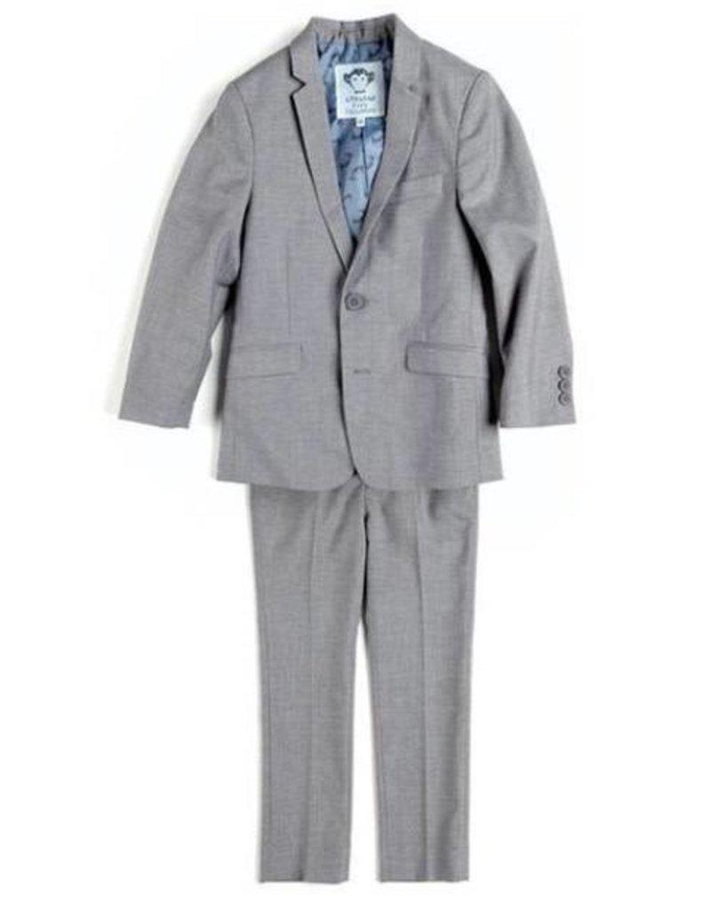 Appaman Appaman mod suit in mist grey