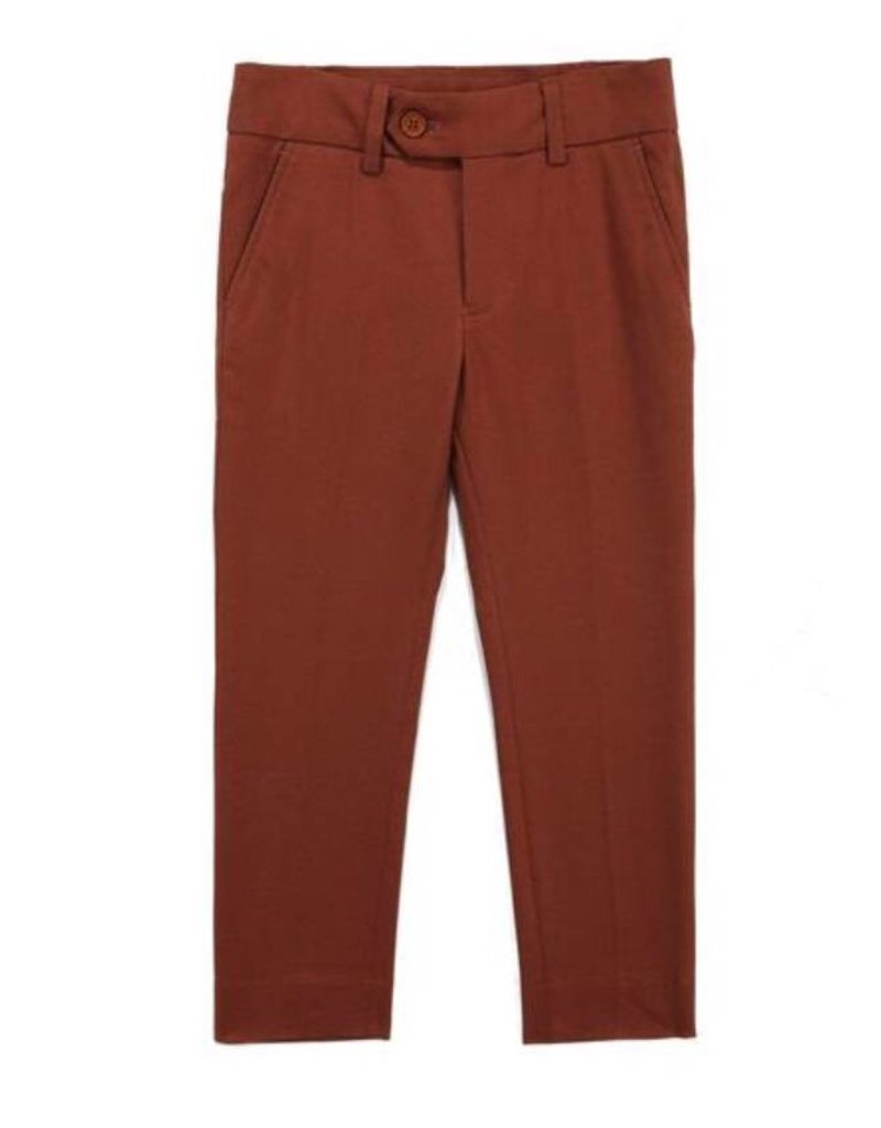 Petit clair Petit Clair Redwood(orange) Pants
