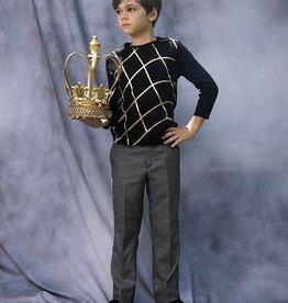 nove Nove black and gold sweater