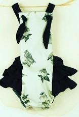 popelin Popelin bird print romper