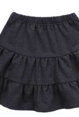 PC2 Black  Tiered Skirt