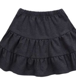 PC2 Black  Tiered Skirt