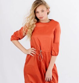 Picadilly Orange Bubble Dress