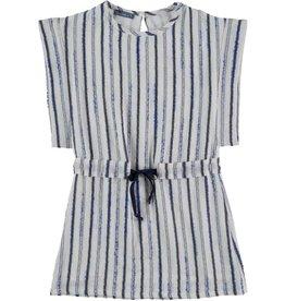 Tarantela Tarantela blue stripe dress