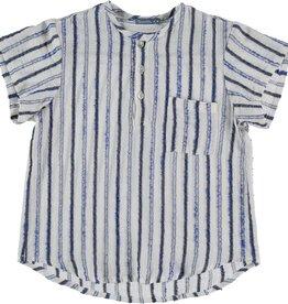 Tarantela Tarantela blue stripe shirt