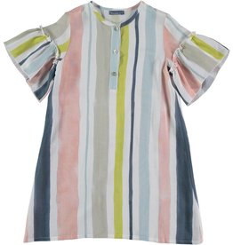 Tarantela Tarantela soft stripe dress