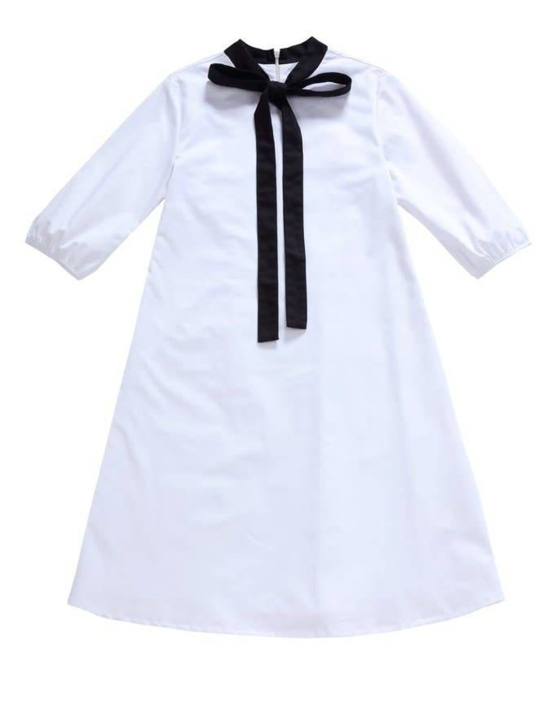 Petit clair Petit Clair teens white dress