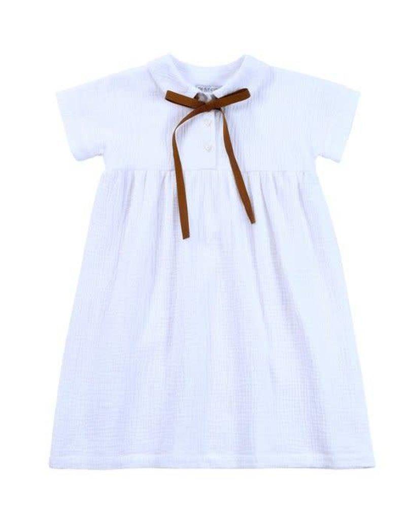 Petit clair petit clair white dress