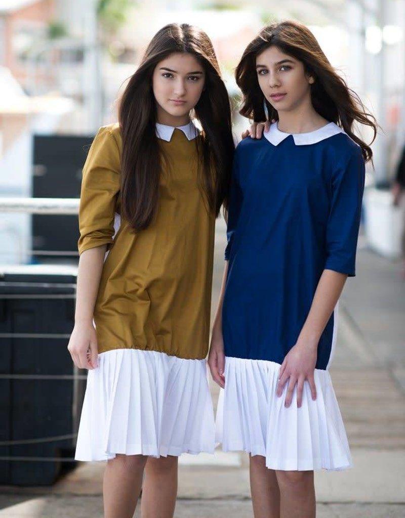 Petit clair Petit clair teens navy dress