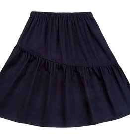 Petit clair petit clair asymmetrical black skirt