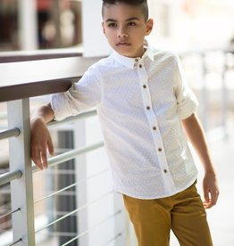 Petit clair petit clair dot boys shirt