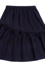 Petit clair petit clair asymmetrical black skirt