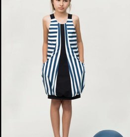 Motoreta motoreta blue Lucia dress