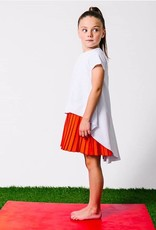 kipp kipp grid combo dress