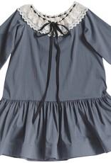 Venera Arapu Grey Crochet dress