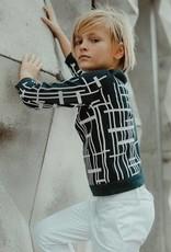 nove Nove Navy City Sweater