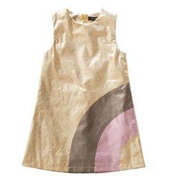 Imoga Imoga girls Gold dress