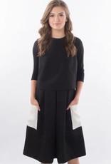 Kierra Black & White dress