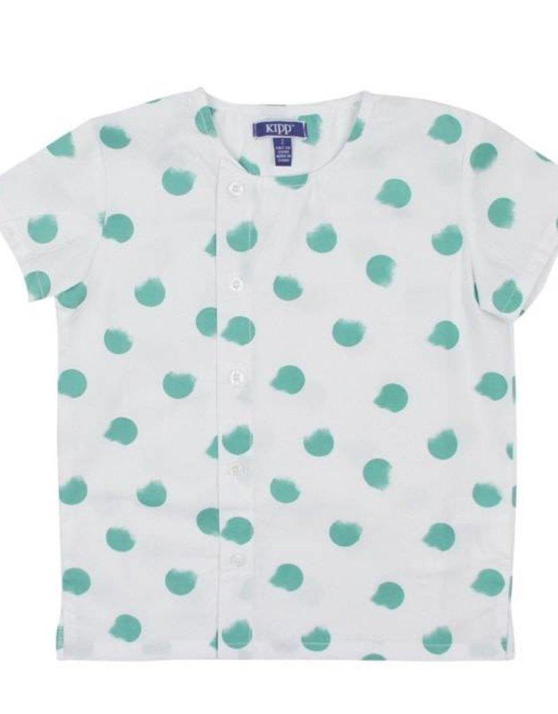 kipp kipp smudge dot shirt