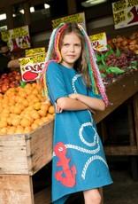 Teela Teela girls blue anchor dress