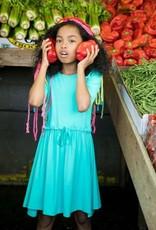 Teela Teela girls Turquoise drstg dress