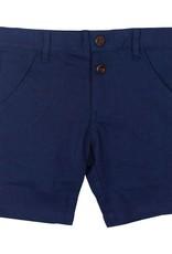 kipp kipp navy linen shorts