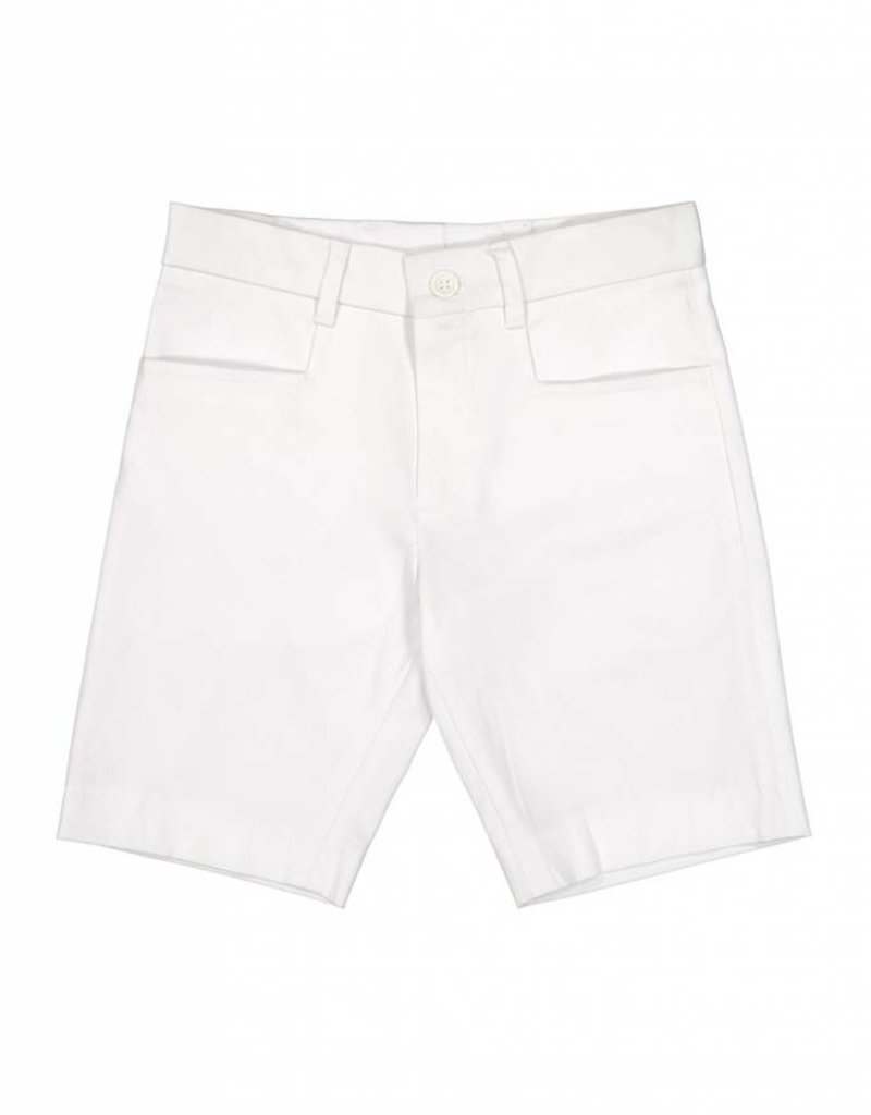 Euro Boys euro white sateen shorts