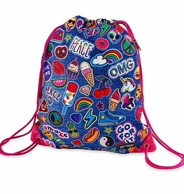 Top Trenz TopTrenz drawstring bag