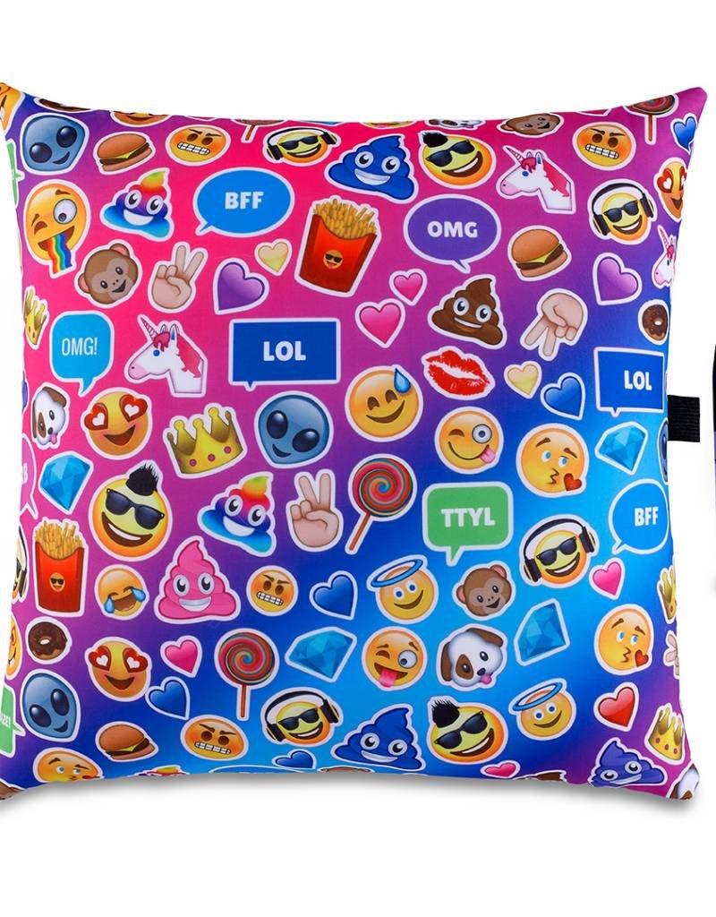 Top Trenz TopTrenz Emoji Pillow