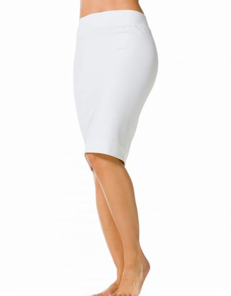 hardtail Hardtail white pencil skirt W321