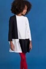 motoretta Motoreta black & white 0004 dress