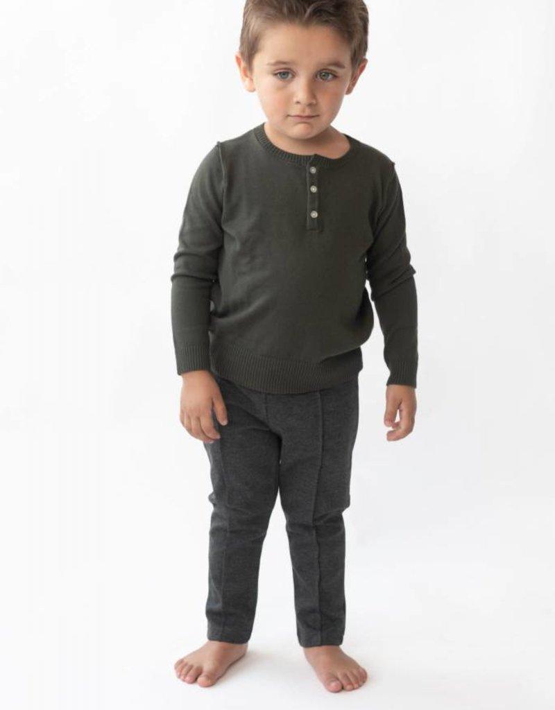 Petit clair Petit Clair Boys Knitwear Olv
