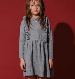kipp Kipp TD1851 Knit Chrcl Rffle dress