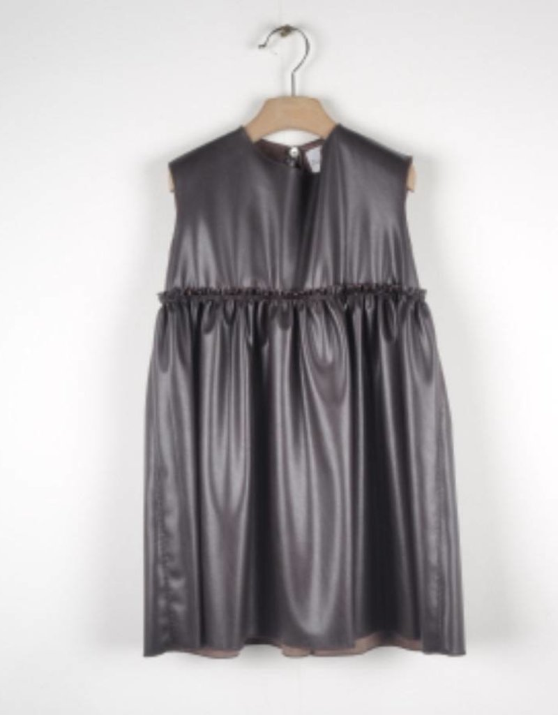 Le Petit Coco Le Petit Coco 1096 Leather Dress