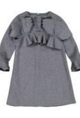Euro Grey Vlvt Dress 607-1