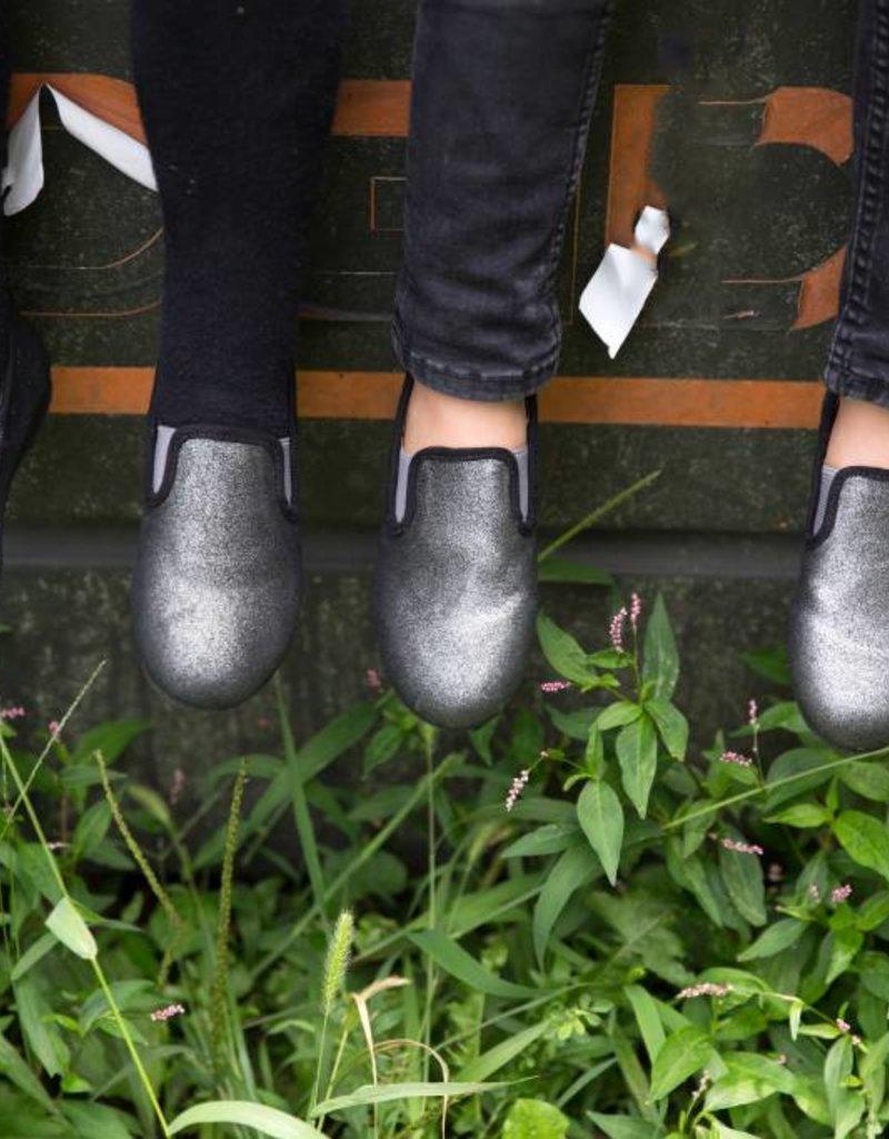 Zeebra Zeebra Black Metallic Loafer