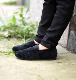 Zeebra Zeebra Black Velvet Loafer