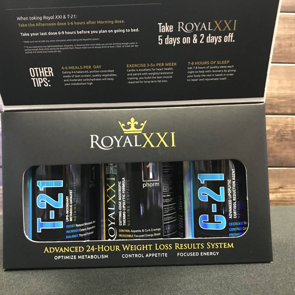 1st Phorm 1st Phorm Royal 21 King System