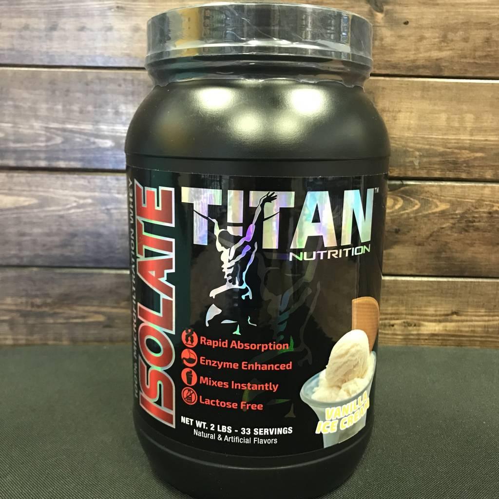 Titan Titan Isolate Protein 2lbs