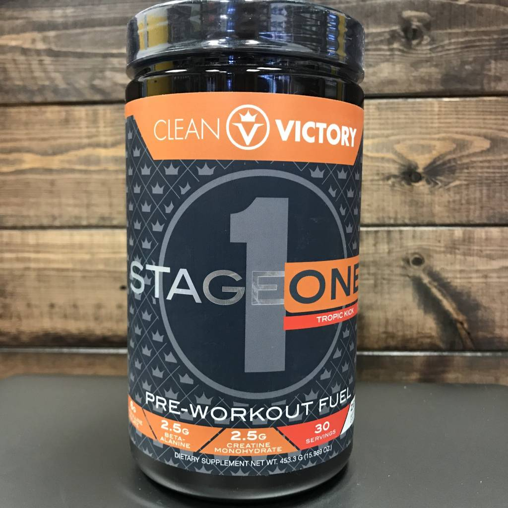 Clean Victory Clean Victory Stage One Pre-Workout
