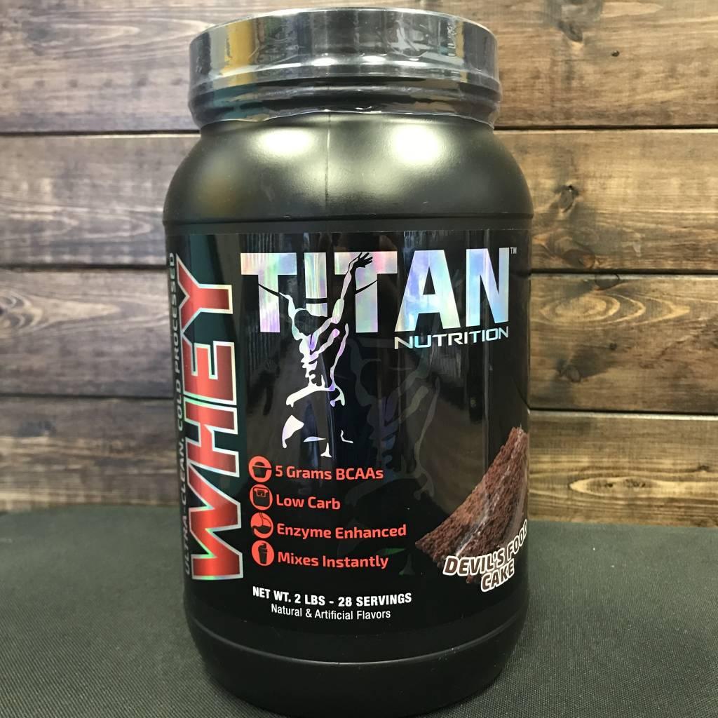 Titan Titan Whey Protein 2lbs