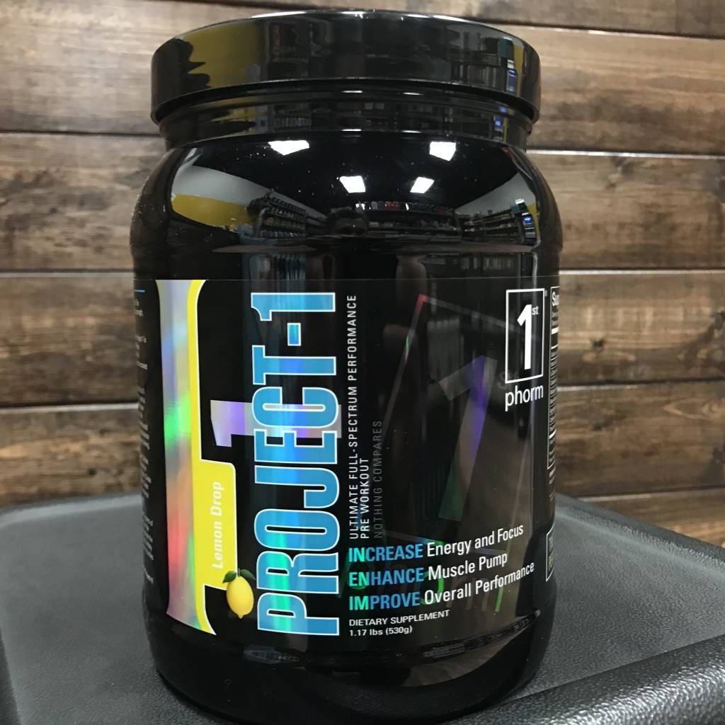 1st Phorm 1st Phorm Project 1 Pre-Workout