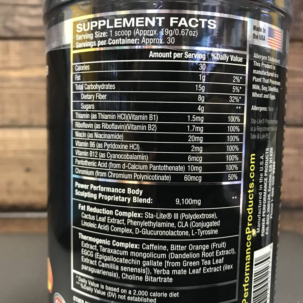Power Performance Body Effects, Grape