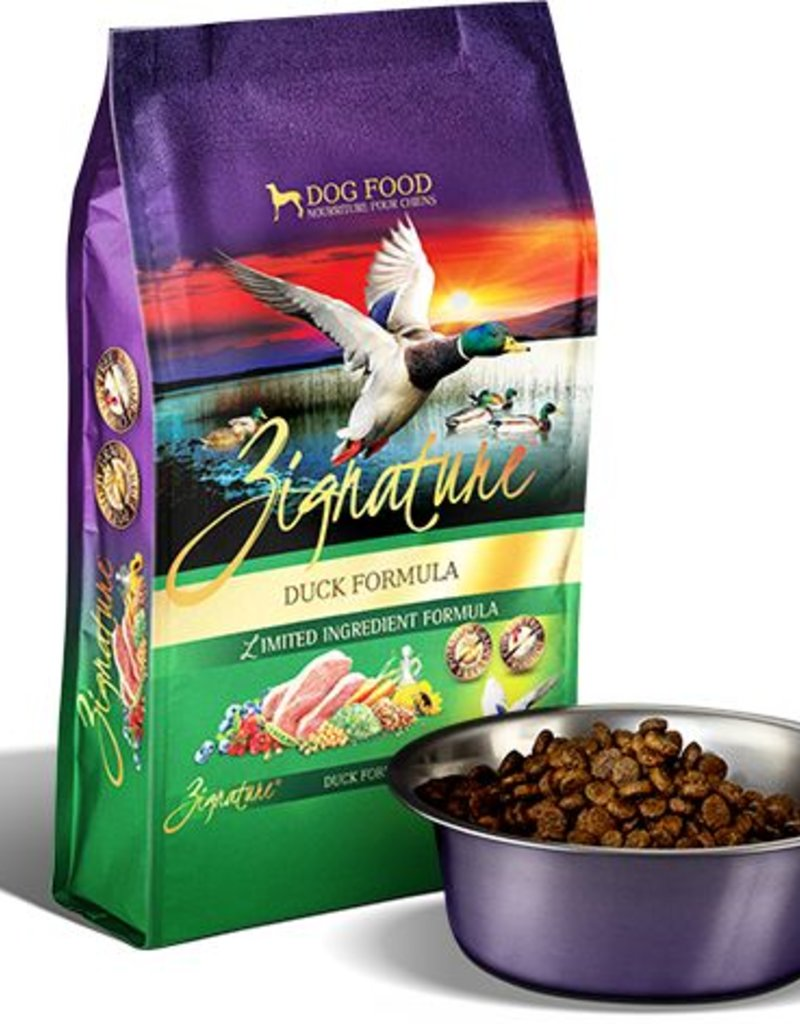 ZIGNATURE Zignature Duck Formula Dog Food